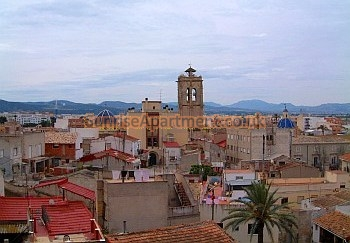 The city of Orihuela