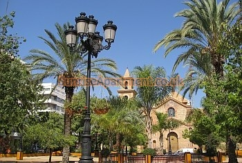The town of Torrevieja